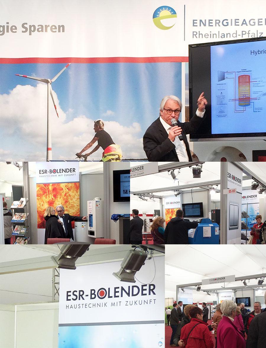 Rheinland-Pfalz-Ausstellung 2016 in Mainz - Messestand-Impressionen von ESR-BOLENDER